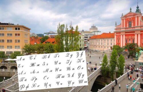 """Ćirilica na ulicama Ljubljane! Oglasilo se Ministarstvo: """"Nemojte da se iznenadite"""""""