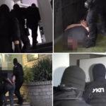 Filmska AKCIJA POLICIJE: Pogledajte kako su uhapšeni Belivukovi vojnici osumnjičeni za ubistvo (VIDEO)
