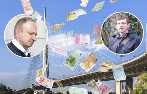 Odakle Gojku Đilasu NOVAC za 35 nekretnina? Brat Dragan samo od reketa za Most na Adi uzeo MILIONE!
