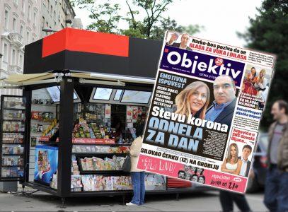 Sutra u novinama Objektiv: Stevu korona odnela za dan, Univereksport pljačka kupce… (NASLOVNA STRANA)