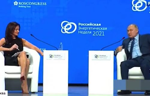 """Dodirivala je kosu i oblizivala usne kako bi omela Putina"": Voditeljka na meti OŠTRIH NAPADA u Rusiji"