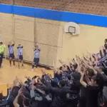 """Crno-beli karneval na Banjici: Partizan po taktovima """"grobara"""" krenuo u evropsku renesansu (VIDEO)"""