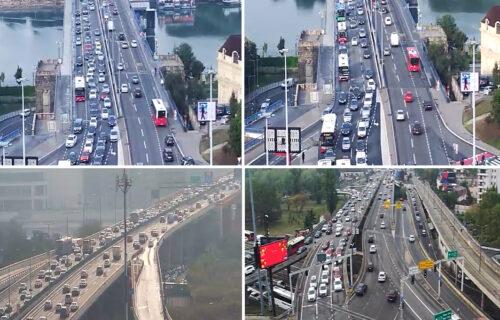 Beograd PARALISAN: U smeru ka centru grada vlada kolaps, vozila u kolonama - ovde je posebno KRITIČNO
