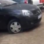 DRAMA u Vojvode Stepe: Neko je tokom noći IZBUŠIO gume svim parkiranim autima (VIDEO)