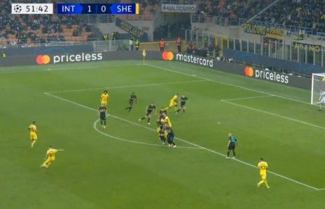 Ako je gol Realu slučajnost, ovo sigurno nije: Til poslao bombu sa 30 metara pravo u mrežu Intera (VIDEO)