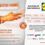 SPASIMO HRANU: Nacionalni dan davanja u Lidlu