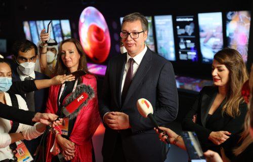 Predsednik Vučić na EXPO 2020 u Dubaiju: Srbija i Beograd moraju da budu SVET (FOTO)