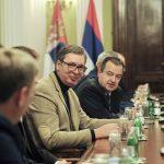 Vučić stigao u Skupštinu Srbije: Učestvovaće na sastanku Radne grupe za međustranački dijalog (FOTO)