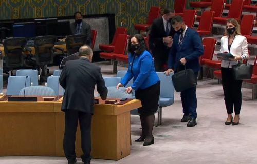 INCIDENT na sednici Saveta bezednosti u UN: Predsedavajući očitao lekciju Vljosi Osmani