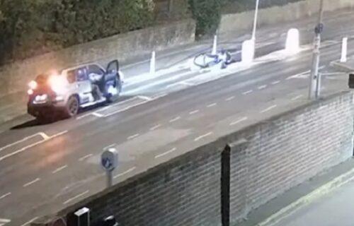 Blokirao saobraćaj u gradu: Dečak lažirao nesreću na biciklu, a razlog za to sve je zgrozio (VIDEO)
