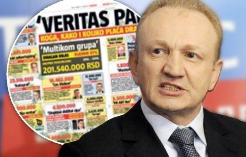 """""""VERITAS PAPIRI"""" koga sve, kako i koliko plaća Đilas? Našim parama plaća novinare, analitičare i portale"""