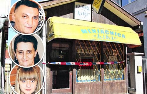 Potresan PRIZOR na vratima menjačnice ubijene porodice Đokić: Aleksinčani ćutke prolaze i KRSTE SE (FOTO)