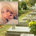 """Radnik groblja mislio da HALUCINIRA: Nadgrobni spomenik devojke (25) """"PLAŠI"""" prolaznike (FOTO)"""