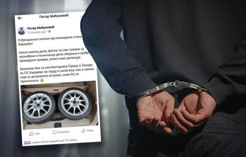 Uhapšeni lopovi: Upadali u kuće i preduzeća, policija VRATILA ukradene predmete vlasnicima! (FOTO)