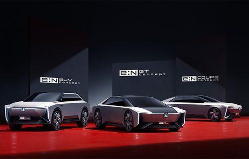 Budućnost je električna: Honda razvija e:N seriju - dva crossovera i tri tajanstvena modela (VIDEO)