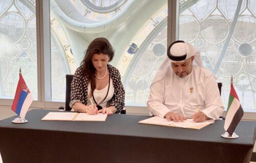 Komora Abu Dabija potpisala sporazum o saradnji sa Poslovnim klubom UAE i Srbije