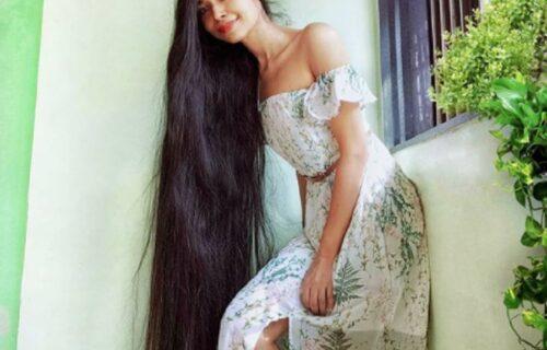 Upoznajte devojku sa kosom dužom od TRI METRA: Ovo je njena tajna (FOTO)