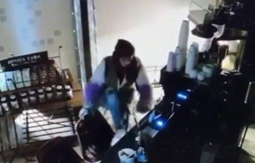 Isplivao snimak EKSPRESNE KRAĐE na Palilulskoj pijaci: Lopov preskočio šank i ugrabio plen (VIDEO)
