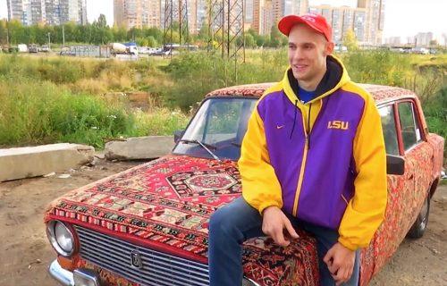 """Ovo je """"najmekši"""" automobil u Rusiji: Vlasnik je dva meseca po radnjama tražio najbolje tepihe (VIDEO)"""