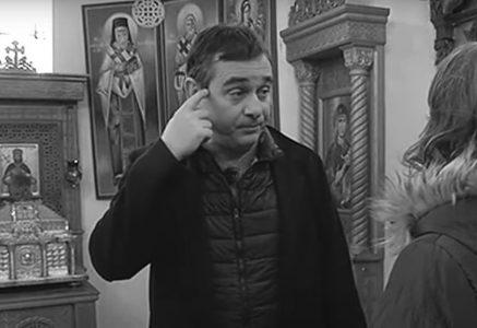 Ovako je govorio pokojni glumac tokom obilaska CRKVE: Marko Živić je pre smrti otvorio DUŠU u Lazarici