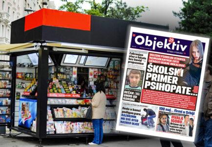 Sutra u novinama Objektiv: Dijana školski primer psihopate, nova odluka Kriznog štaba (NASLOVNA STRANA)