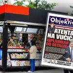 Danas u novinama Objektiv: Isplaniran atentat na Vučića, uhapšeni radili za Đokića... (NASLOVNA STRANA)