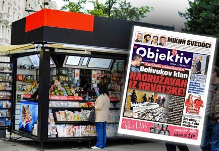 Sutra u novinama Objektiv: Hrvat snabdevao oružjem Veljka Belivuka, Srbe jurili sekirom (NASLOVNA STRANA)