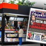 Danas u novinama Objektiv: Ista ekipa štiti Dijanu Hrkalović i Dumanovića (NASLOVNA STRANA)