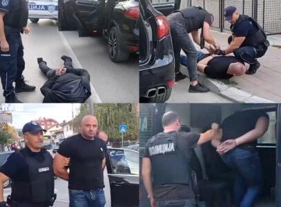 EKSKLUZIVNO: Pogledajte snimke HAPŠENJA osumnjičenih za ubistvo porodice Đokić: Džonić ih okrivio (VIDEO)