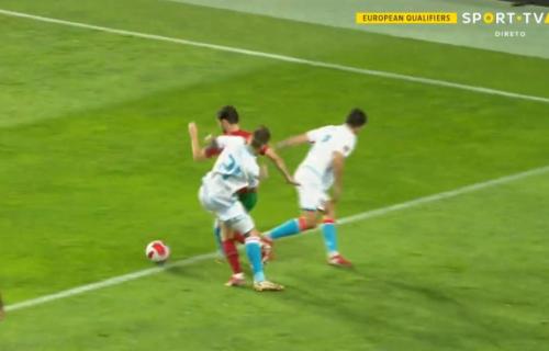 Sramotan penal za Portugal: Igrač oboren van kaznenog prostora, VAR se nije ni oglasio (VIDEO)