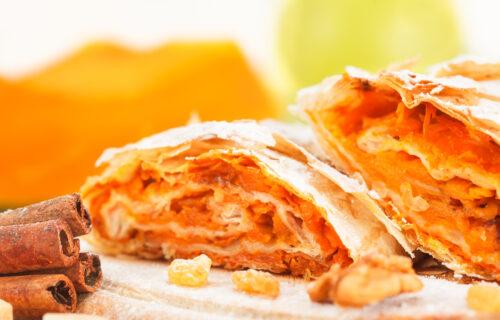 Sočna pita od bundeve - najukusniji recept