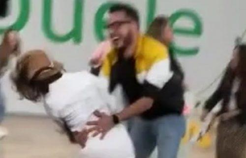 Kad ples krene po zlu: Prošli su bez povreda, ali su im se smejali milioni ljudi (VIDEO)