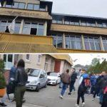 Prvi snimci POŽARA u Novom Pazaru: Gust dim se NAGLO širio školom, povređen jedan učenik (VIDEO)