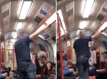 """Nasilnik u metrou pretio da će da """"nokautira"""" ženu: Ono što je usledilo NIJE OČEKIVAO (VIDEO)"""