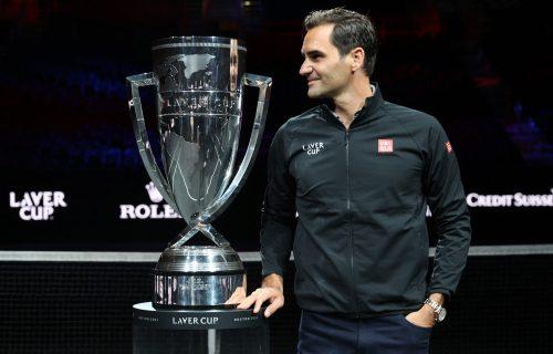 Federer blista od sreće: Dobio je neverovatnu čast, ova slika je obišla svet u nekoliko minuta (FOTO)