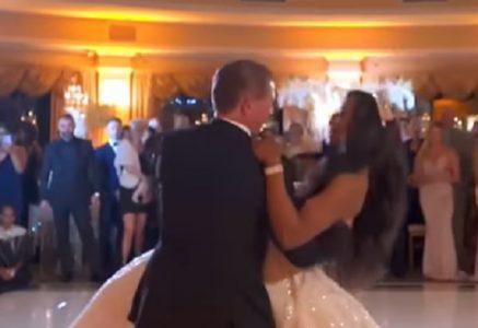 """""""Veseo"""" početak braka: Mladenci otpočeli prvi ples, ali nisu predvideli da će se ovo desiti (VIDEO)"""