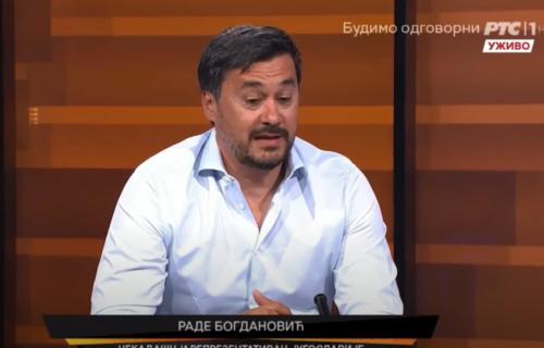 Bogdanović uživo na RTS-u isprozivao igrača Zvezde: Ljudi sa Marakane bi želeli da ovo nije rekao (VIDEO)