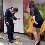 Došao devojci na rođendan, pa dobio tortu u glavu: Ovo je razlog skandala (VIDEO)