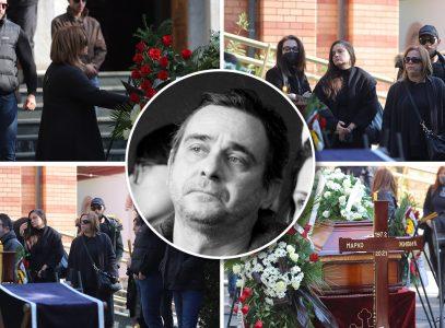 Sahranjen Marko Živić: Svi slomljeni od bola, suze i jecaji na Novom groblju (FOTO+VIDEO)
