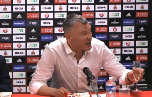 Žurka na konferenciji: Šarunas pričao na srpskom, a onda je krenuo da pije šampanjac (VIDEO)