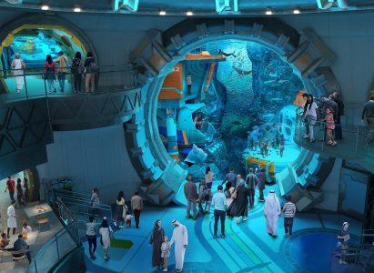 Gradi se NAJVEĆI akvarijum na svetu: 68.000 morskih životinja u 25 miliona litara vode (VIDEO)