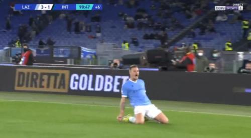 Burno u Rimu: SMS dokrajčio Inter, dečačke suze fudbalera Lacija na kraju meča! (VIDEO)