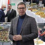 SNS proslavio stranačku slavu: Predsednik Vučić dočekan aplauzima, domaćin održao pobednički govor (FOTO)