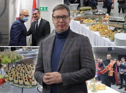 SNS proslavlja stranačku slavu: Stigao i predsednik Vučić, dočekan aplauzima (FOTO)