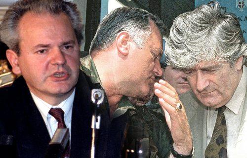 """Dosijei CIA o Miloševiću, Mladiću i Karadžiću: Jedan označen sa """"nije Napoleon"""", evo ko je najveći VERNIK"""