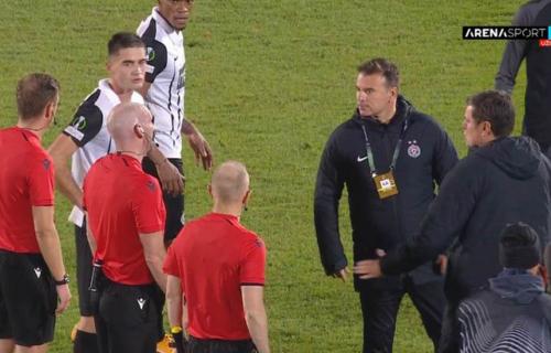 Haos u Humskoj: Stanojević divljao posle meča i napao sudiju - jedva su ga smirili! (VIDEO)