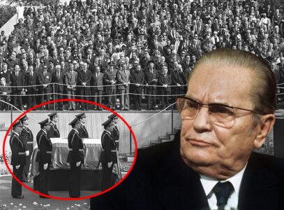 Bez TELA: Evo šta je bilo u Titovom kovčegu na sahrani (VIDEO)