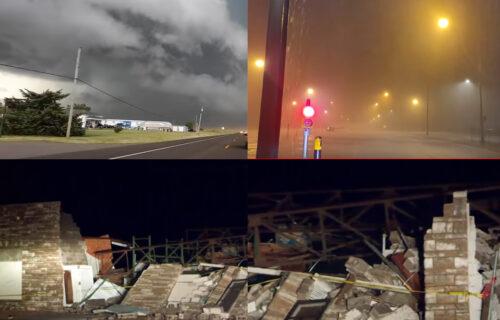 Tornado napravio HAOS u Oklahomi: Jeziv prizor nakon oluje, padao GRAD veličine golf loptice (FOTO+VIDEO)