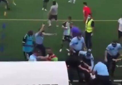 Neviđen haos u Portugalu: Opšta tuča na terenu, uletela policija i zapucala (VIDEO)