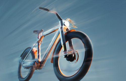 Brži od propisa: Ovaj hiperbicikl razvija 60 km/h pomoću dva elektromotora (VIDEO)